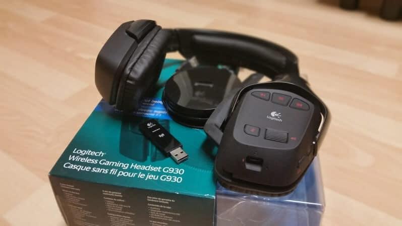 Logitech G930 Wireless Gaming Headset Review