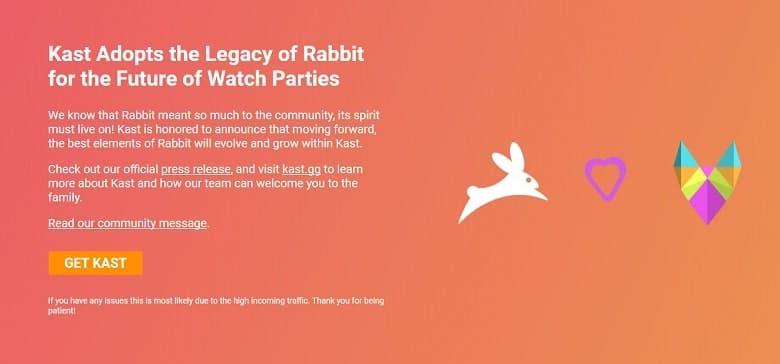 Kast Adopts the Rabbit